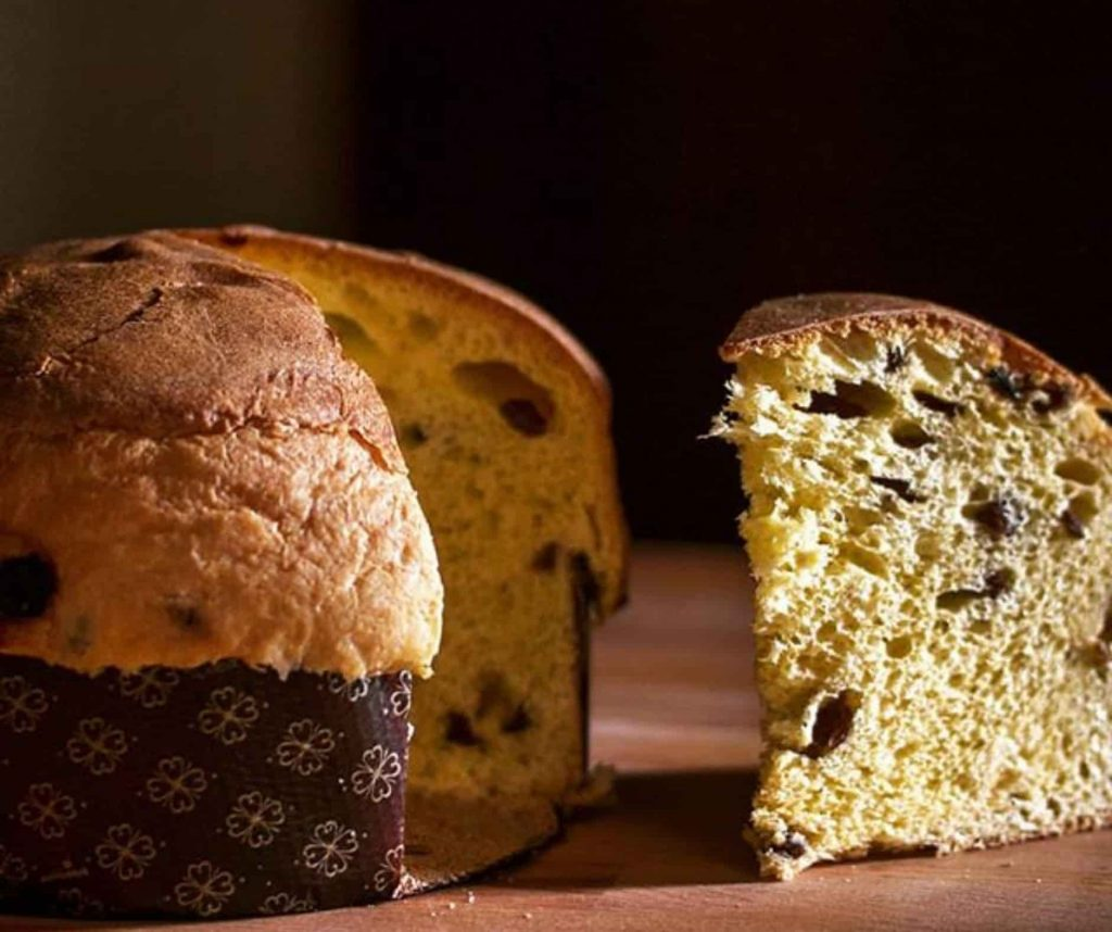 Typical milanese Panettone