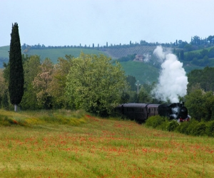Nature train Val d'Orcia