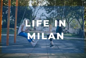 live and study italian in Milan