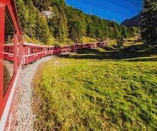 treno-rosso-lungo-prato-verde-alberi